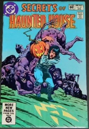 Secrets of Haunted House #441/82 Cover Direct Edition