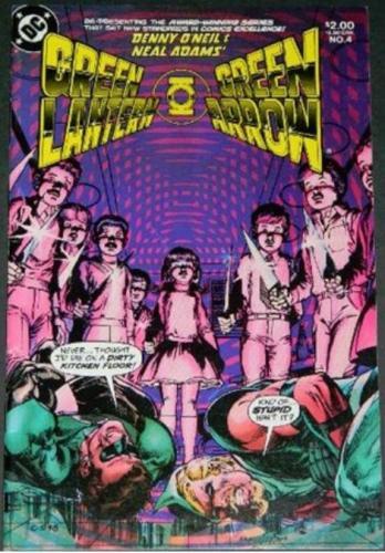 Green Lantern Green Arrow #41983 reprint Green Lantern #82