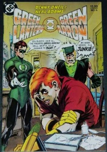 Green Lantern Green Arrow #51983 reprint Green Lantern #84
