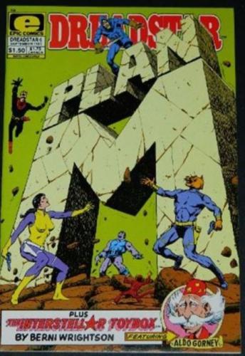 "Dreadstar #69/83 back cover, ""Interstellar Toybox"""