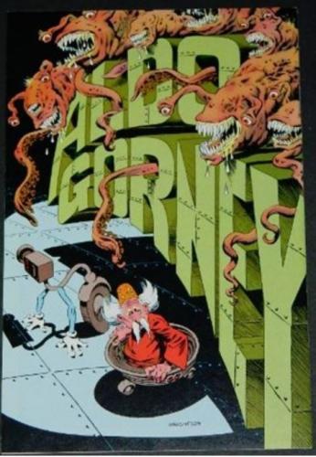 Dreadstar #6Back cover,