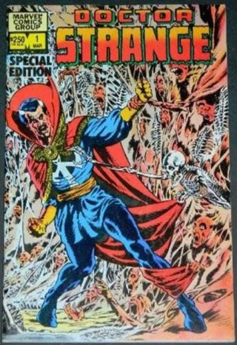 Doctor Strange #12/83 Wrap around cover