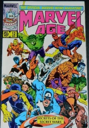 Marvel Age Vol.1 #123/84 article on Frankenstein