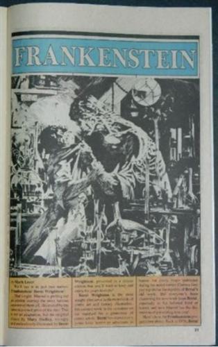 Marvel Age Vol.1 #12Article on Frankenstein