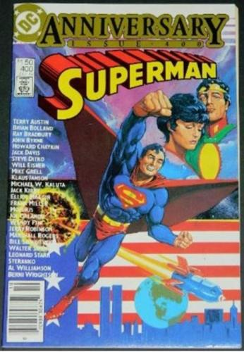 Superman #40010/84 Pin up