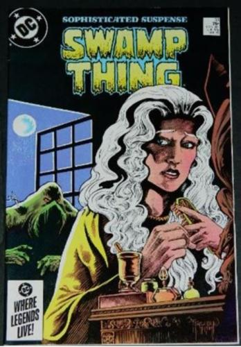 Sophisticated Suspense Swamp Thing 2/85 HOS #92 origin