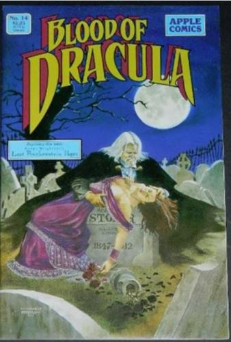 "Blood of Dracula #149/89 ""Lost Frankenstein Pages"" 8"