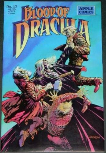"Blood of Dracula #17Cover7/90 ""Lost Frankenstein Pages"" 10"