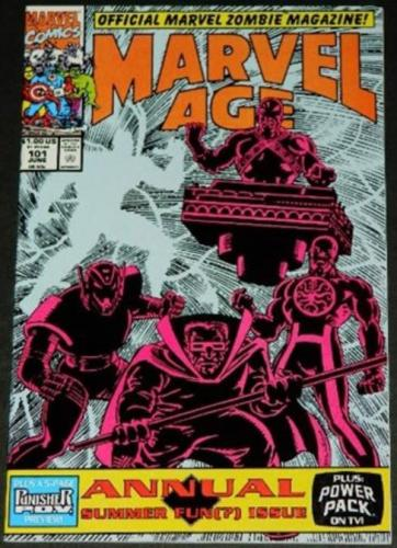Marvel Age #1016/91 - 5pg. Punisher P.O.V. preview