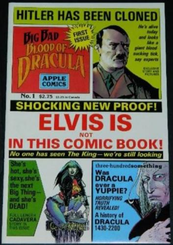 "Big Bad Blood of Dracula #17/91 ""Out on a Limb"" B&W"