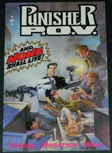 Punisher P.O.V. #11991 - Cover, story art