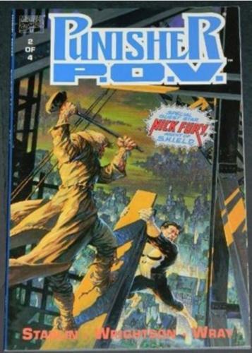 Punisher P.O.V. #21991 - Cover, story art