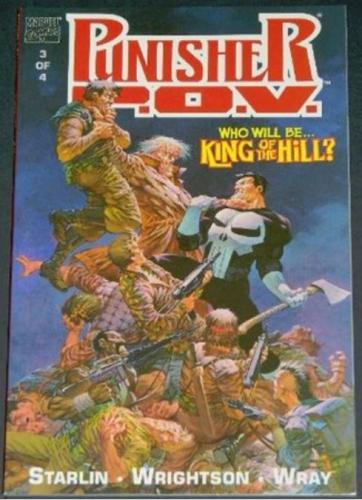 Punisher P.O.V. #31991 - Cover, story art