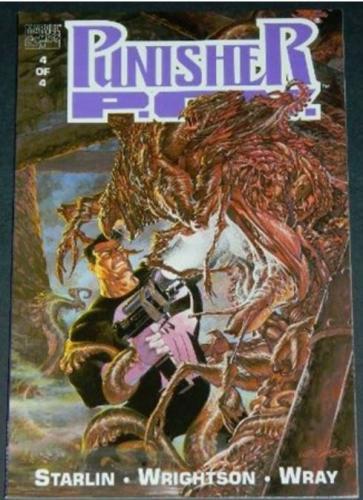 Punisher P.O.V. #41991 - Cover, story art