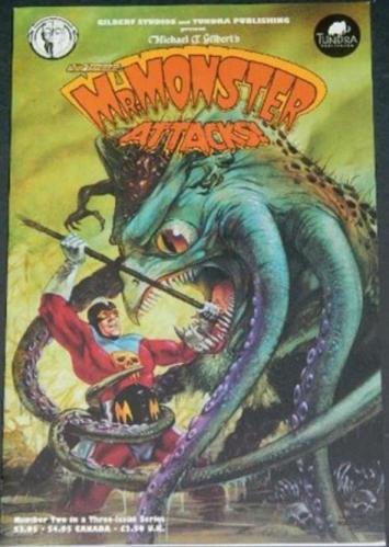 Mr. Monster Attacks #29/92 back cover