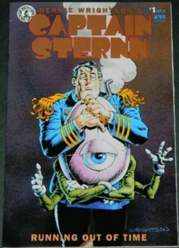 Captain Sternn #19/93 Gold Ink Variant