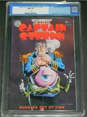 Captain Sternn #19/93 CGC 9.6