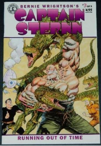 Captain Sternn #33/94 Cover, story art