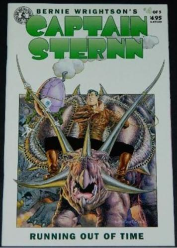 Captain Sternn #45/94 Cover, story art
