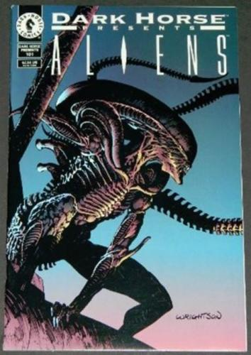"Dark Horse Presents #1019/95 Cover, ""Aliens Incubation"" Pt. 1"