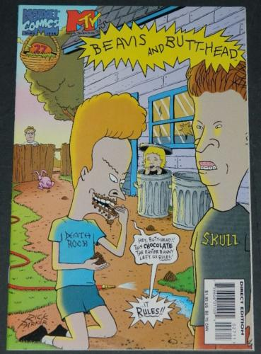 Beavis and Butt-head #27May 1996splash page