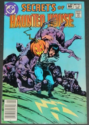 Secrets of Haunted House #441/82 Cover Newstand Edition