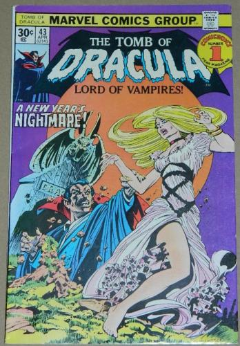 Tomb of Dracula #434/76 Cover 30 cent variant