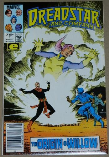 Dreadstar and Company #28/85 Newsstand Cover