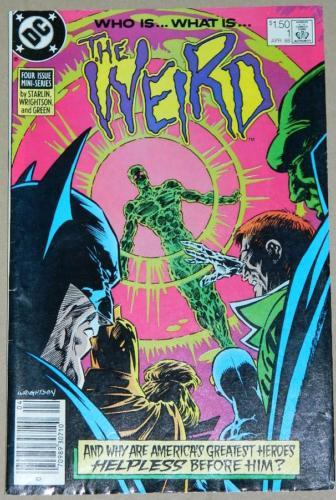 The Weird #14/88 Newsstand Cover, pencils