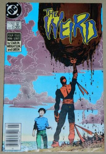 The Weird #25/88 Newsstand Cover, pencils