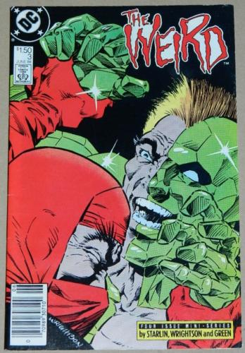 The Weird #36/88 Newsstand Cover, pencils