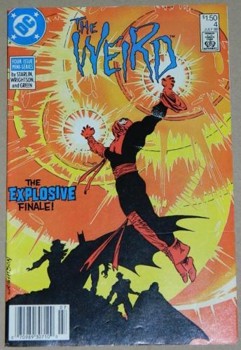 The Weird #47/88 Newsstand Cover, pencils