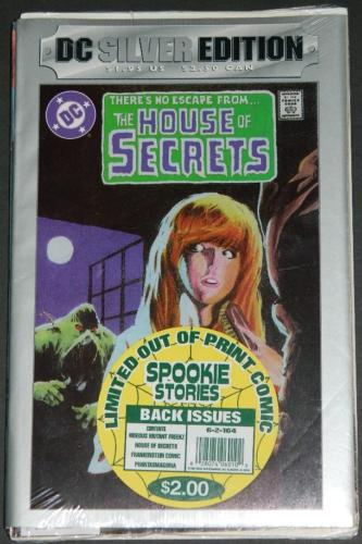 DC Silver Edition House of Secrets #92Treat Entertainment 4 comic pack