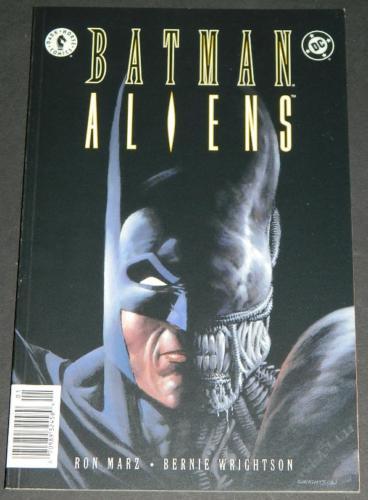 Batman Aliens #13/97 Cover, Story artNewsstand Editon