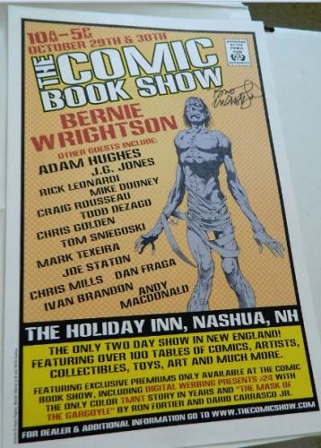 Nashua NH Comic Show - small poster