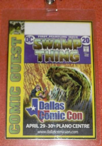 Dallas ComiCon Special Badge