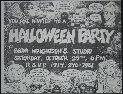 Halloween Invite