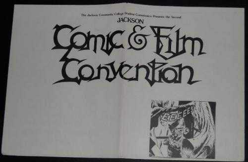 Comic & Film Convention - Jackson Community College