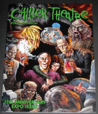 Chiller Theatre Program2003 Cover