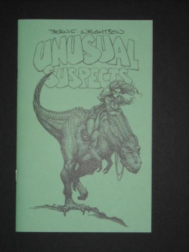 Unusual SuspectsConvention Sketchbook