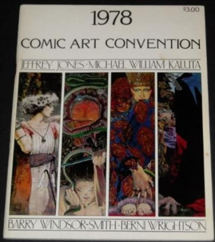 1978 Comic Art Convention - Cover, 1 illustration, Studio ad