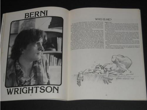 1978 Comic Art Convention - photo and illustration