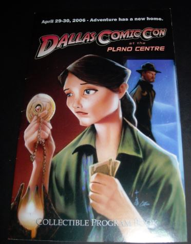 Dallas Comic Con2006 flip cover