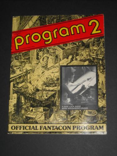 Program 2Fantacon 1980 - cover & 3 illustrations
