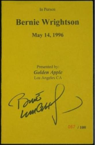"Golden Apple Comic Store - May 14, 1996 062/1002 different sketches than ""Inland Empire"""