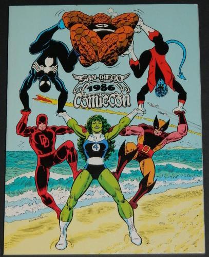 Sand Diego Comic Con1986