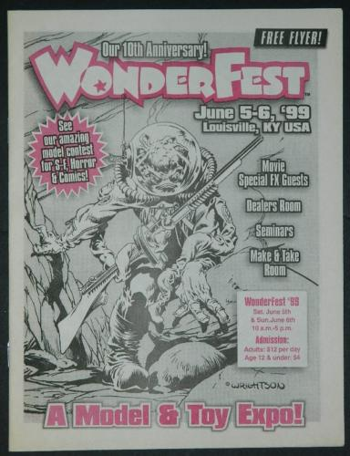 WonderFest 1999 Flyermore like a convention book