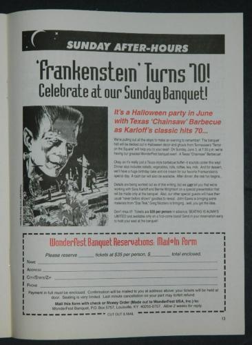 WonderFest 2001 Flyer