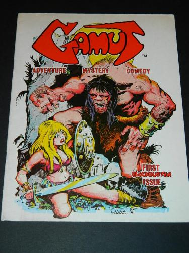 Gamut #11975 cover, illustration