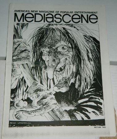 Media Scene Sec.2Nov/Dec 1975Cover